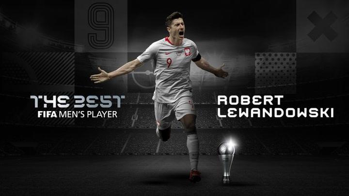 Lewandowski, ganador del The Best 2020