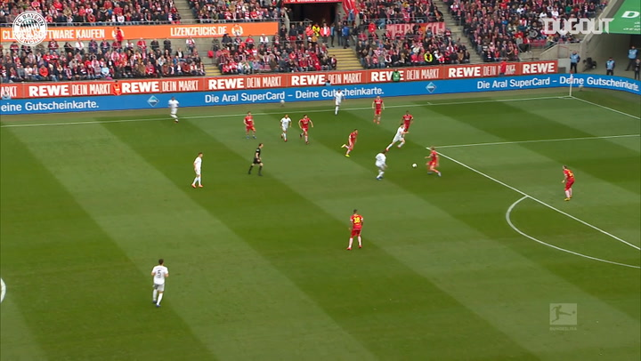 Robert Lewandowski opens scoring vs FC Köln