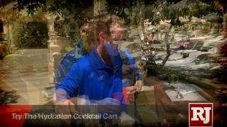 Bellagio's Cantaloop cocktail