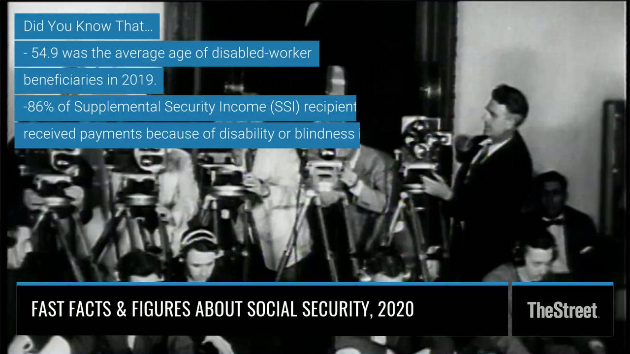 Fast Facts & Figures About Social Security, 2020