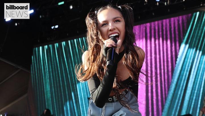 Olivia Rodrigo Performs 'First Show' at 2021 iHeartRadio Music Festival