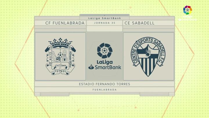 LaLiga SmartBank (J35): Resumen y goles del Fuenlabrada 2-2 Sabadell