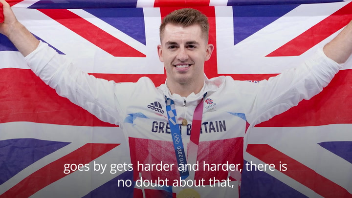 Max Whitlock describes 'massive pressure' of defending Olympic gold in Tokyo