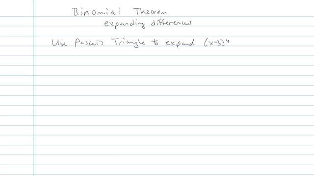Binomial Theorem - Problem 8