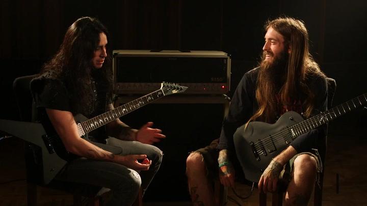 Suicide Silence's Mark Heylmun and Ozzy Osbourne's Gus G. Part 1