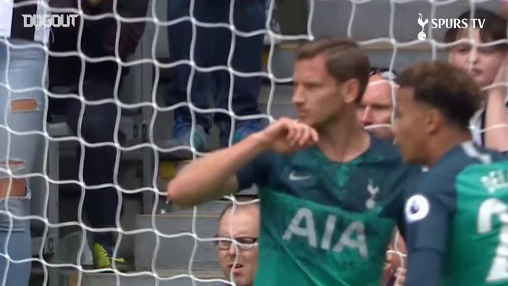 Jan Vertonghen's Strikes For Spurs