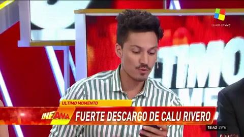 Calu Rivero contó por primera vez detalles del acoso de Juan Darthés