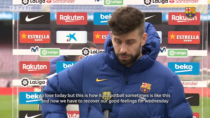 Gerard Piqué: 'Everybody can lose points'