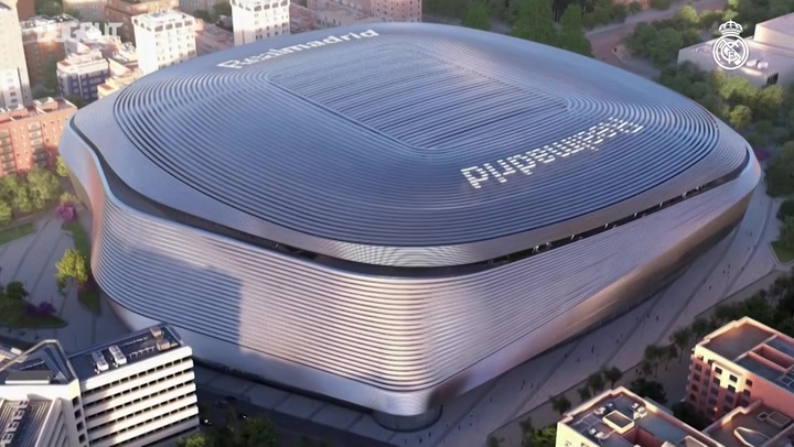 The New Santiago Bernabéu!