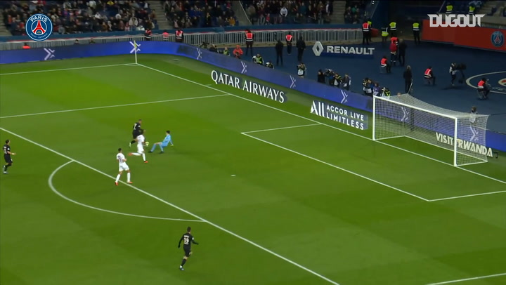 Neymar Jr and Mbappé's superb movement against Montpellier