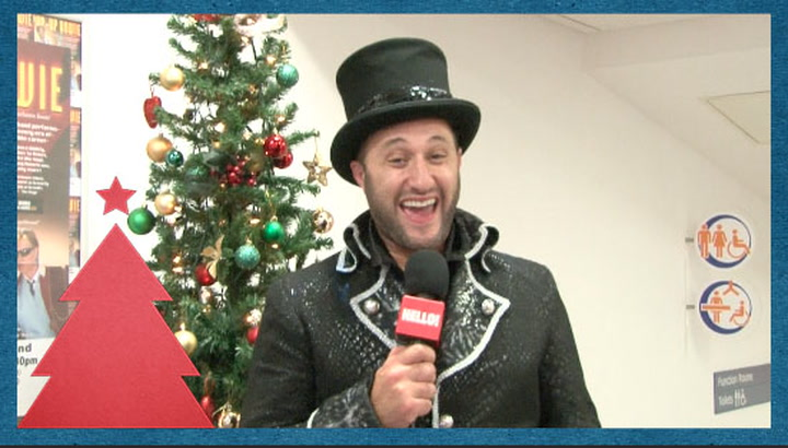 Antony Costa on going from Panto baddie to doting Daddy through his Christmas plans