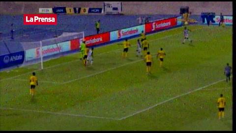 El increíble fallo de Romell Quioto contra Jamaica