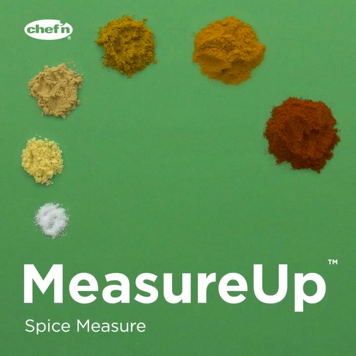 Preview image of Chef'n MearsureUp Top Down Spice Measurer video