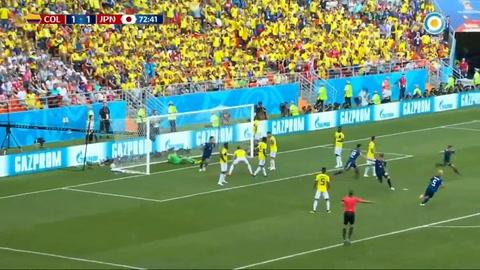 Japón sorprendió al ganarle a Colombia que jugó con uno menos