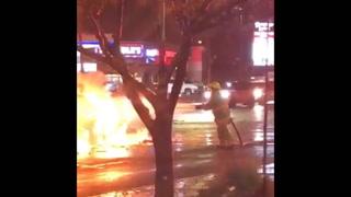Video of fatal crash in southwest Las Vegas