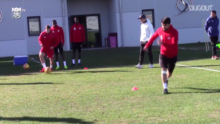 Sivasspor Camp In Under A Minute