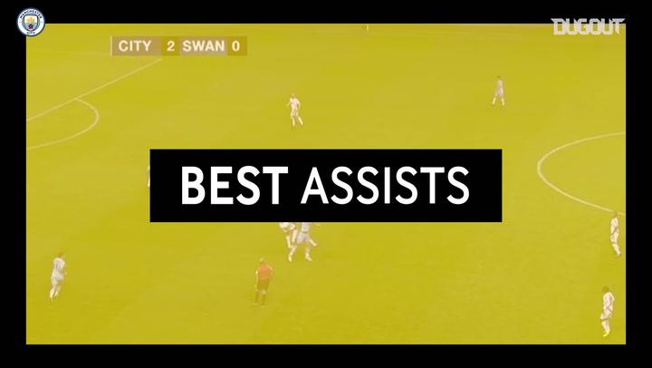 Best Assists: Sergio Aguero vs Swansea 2011