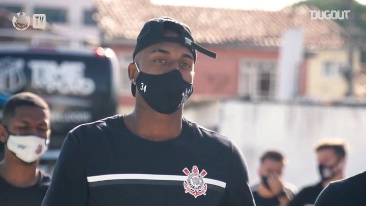 Corinthians last training session before Fortaleza clash