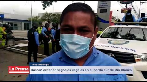 Buscan ordenar negocios ilegales en el bordo sur de Río Blanco
