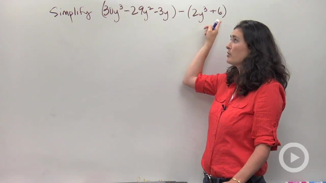 Adding and Subtracting Polynomials - Problem 3