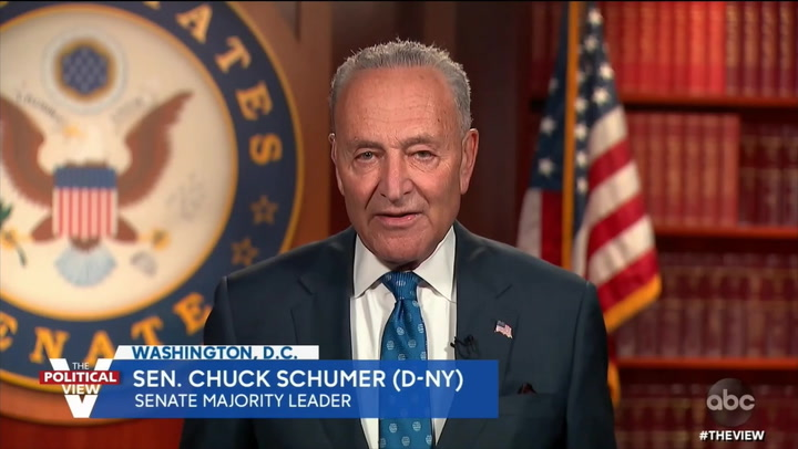 Schumer: If We Don't Act on Climate in 'Next Few Years, What We Saw with COVID Will Be Even Worse'