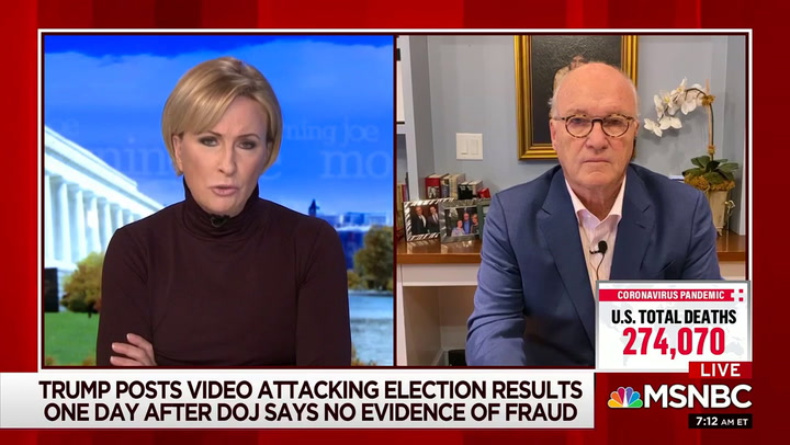 MSNBC's Barnicle: Trump's Rant Was 'Mentally Ill' -- 'Invoke the 25th Amendment Before More Damage is Done'