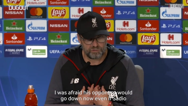 Klopp gives update on Henderson, explains Mane substitution