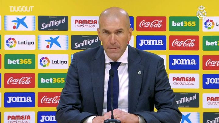 Zidane: 'We deserved much more'
