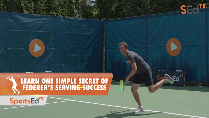 Learn One Simple Secret Of Federer's Serving Success