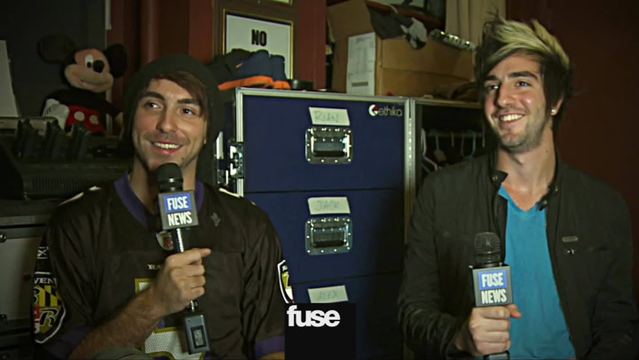 Interviews: All Time Low on Thier Music Video