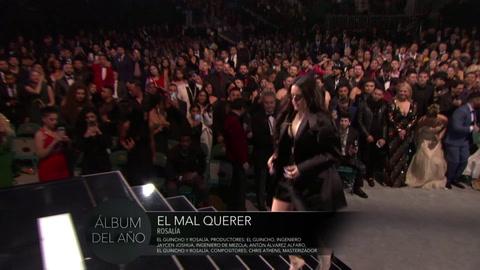 Rosalía reina en el Grammy Latino