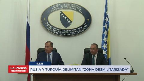Rusia y Turquía delimitan ''zonas desmilitarizadas''