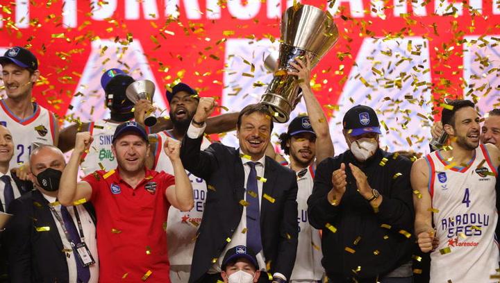 Anadolu Efes, nuevo campeón de la Euroliga