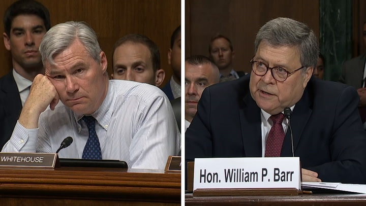 Attorney General Barr puts former intel bosses on notice