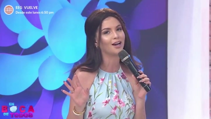 Brunella Horna compara a su pareja Richard Acuña y Sebastián Rulli