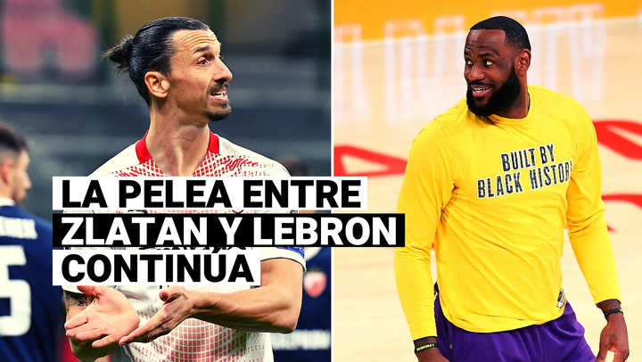 Estrellas de la NBA salen en defensa de LeBron James e insultan a Zlatan Ibrahimovic