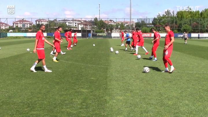 Sivasspor'un Süper Lig Hazırlıkları Devam Ediyor