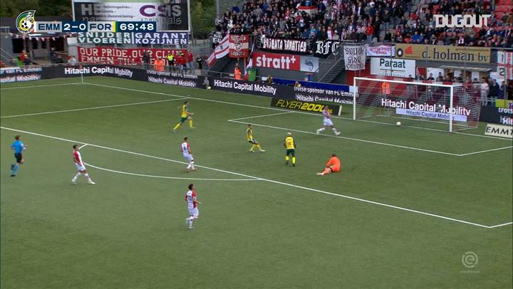 Fortuna Sittard's best goals against FC Emmen