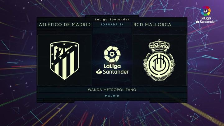 LaLiga Santander (Jornada 34): Atlético de Madrid 3-0 Mallorca