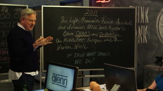 Glenn takes to the chalkboard to explain how to make sense of the chaos in the world