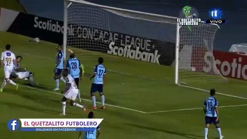 Júnior Lacayo le dio la victoria al Comunicaciones ante Alianza en Liga Concacaf