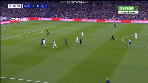 El gol de Isco que abrió el marcador en el Real Madrid - Manchester City