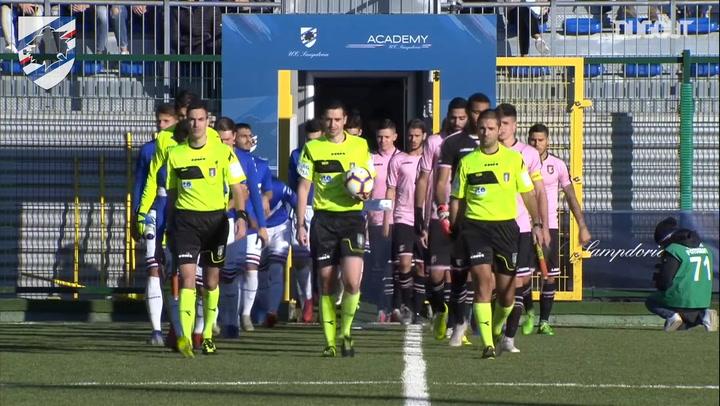 Highlights Primavera 1: Sampdoria 1-0 Palermo
