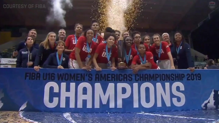 USA Women's U16: Medal Round Highlights