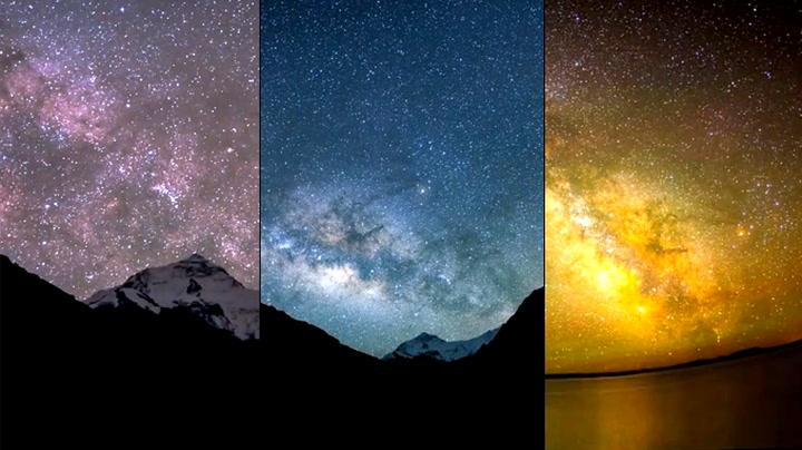 O, du nydelige stjernehimmel