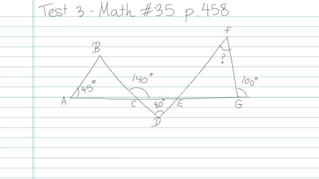 Test 3 - Math - Question 35