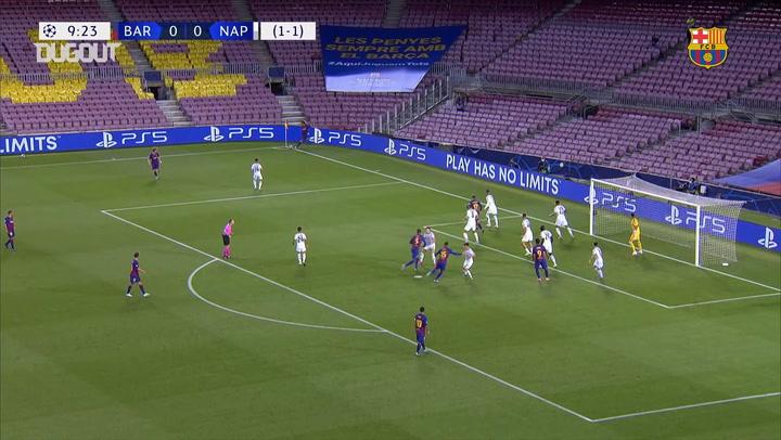 FC Barcelona overcome Napoli in 2020 Champions League last 16