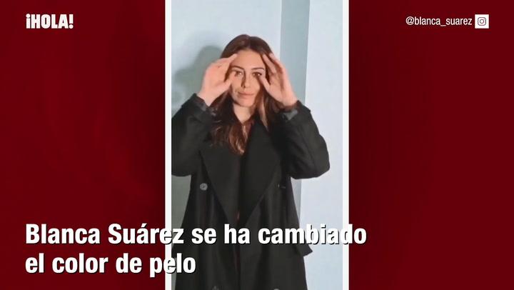 Blanca Suárez cambia de look y se apunta al \'bronde\'
