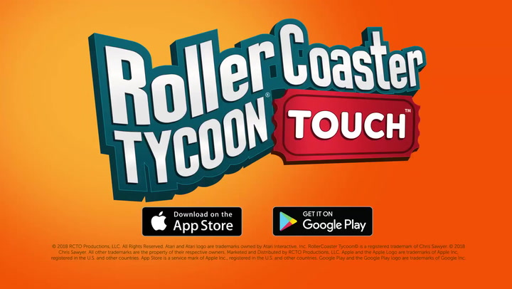 'Rollercoaster Tycoon Touch' - Halloween Update Trailer
