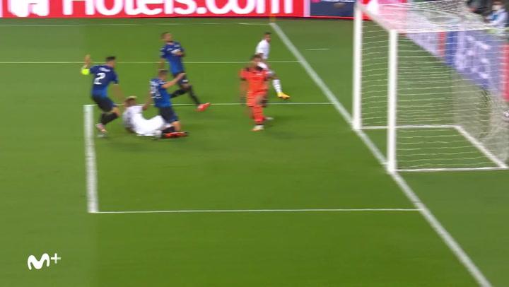Champions League Atalanta-PSG. Gol de Choupo Moting (1-2)